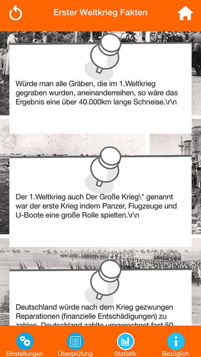Der Erste Weltkrieg Quiz screenshot 4