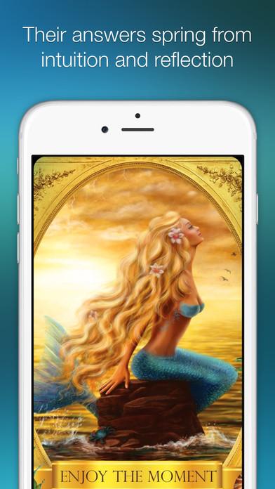 Ask the Mermaids Oracle Cards screenshot 5