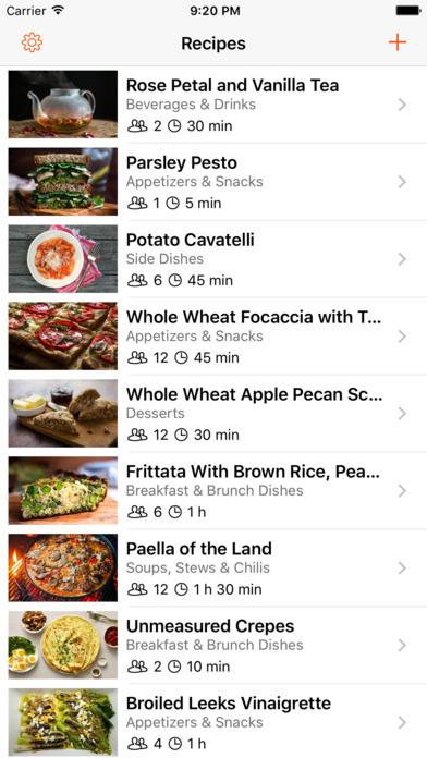 Cookbook - Recipes manager screenshot 1