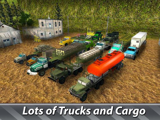 Cargo Trucks Offroad Driving Full screenshot 7