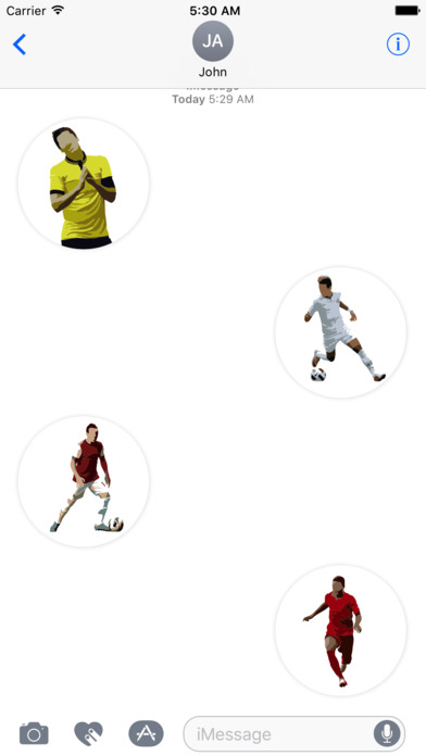 Football Master Sticker Pack screenshot 3