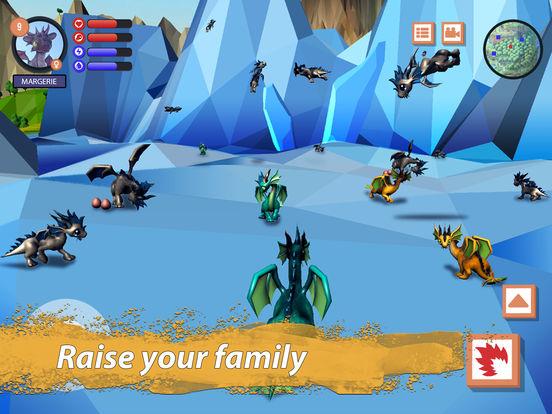 Dragon Family Simulator Full screenshot 7