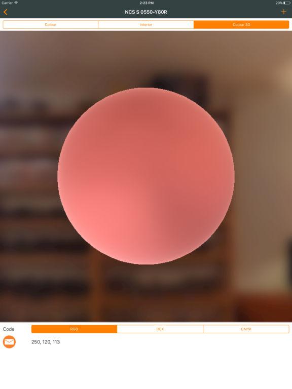 Ncs color chart. 3D fan deck screenshot 8