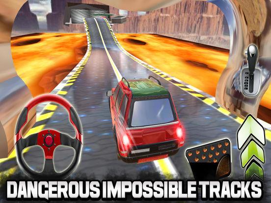 Impossible Lava Tracks screenshot 4