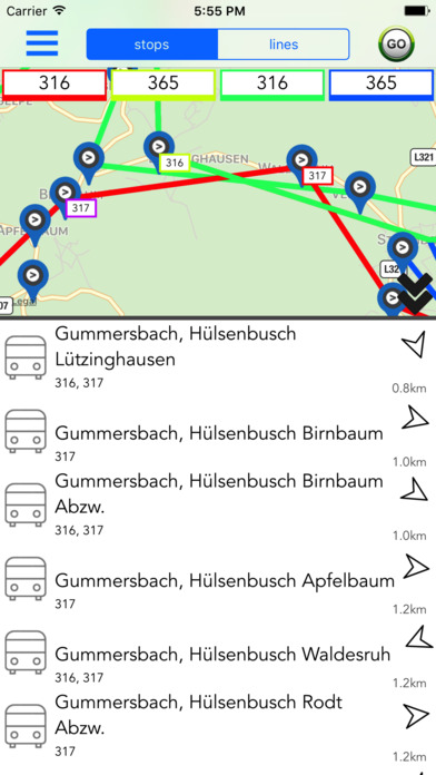 Cologne Public Transport Guide screenshot 1
