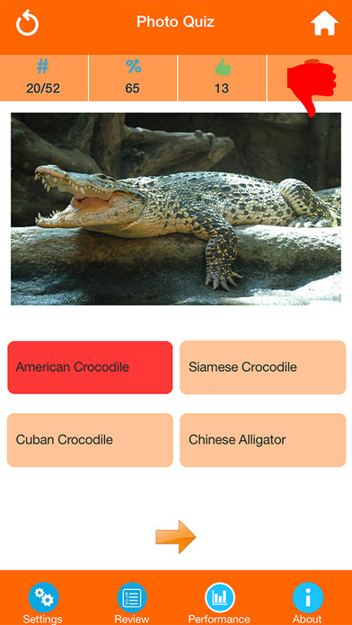 Animals : Reptiles Quiz screenshot 3