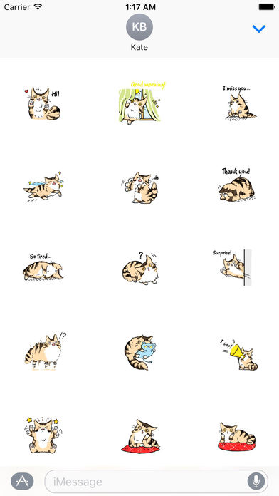 Maine Coon Cat - Mainemoji Emoji Sticker screenshot 1