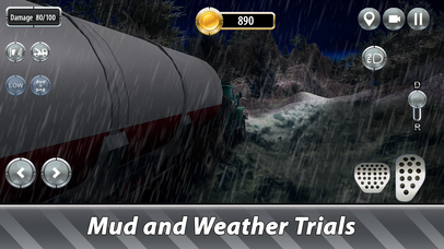 Oil Truck Offroad Driving Full screenshot 3