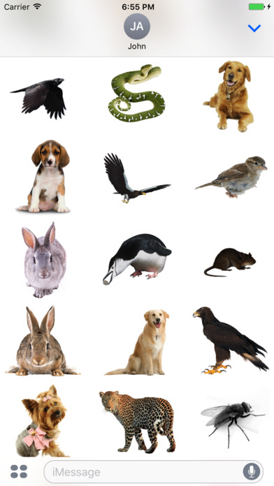 Animals Stickers+ screenshot 2