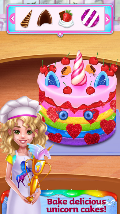 Unicorn Food Style Maker screenshot 2