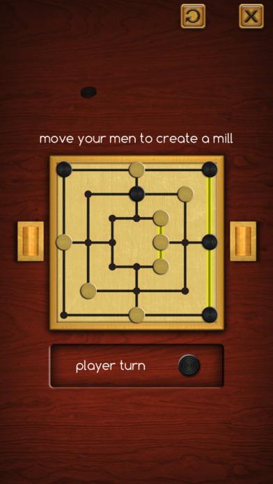 Nine Men's Morris ® screenshot 1
