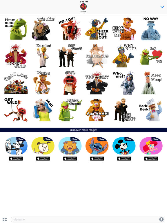 Disney Stickers: Muppets screenshot 10