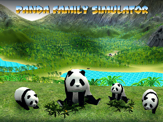 Panda Family Simulator Full screenshot 5