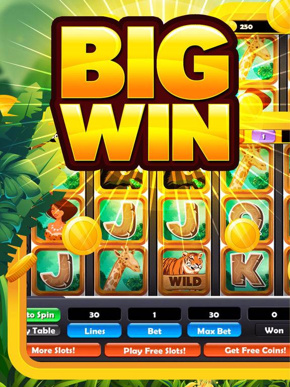 Jungle Journey Slot Machine! Gold Gambling Casino screenshot 6