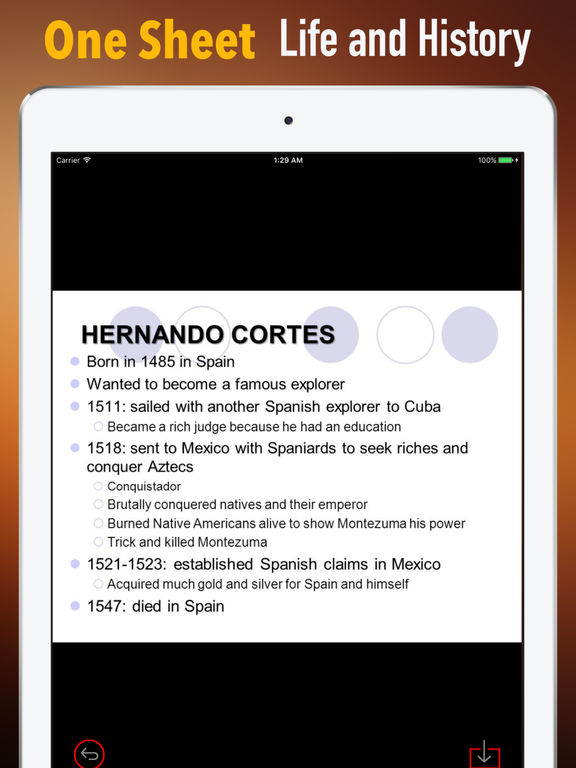 Biography and Quotes for Hernan Cortes screenshot 7