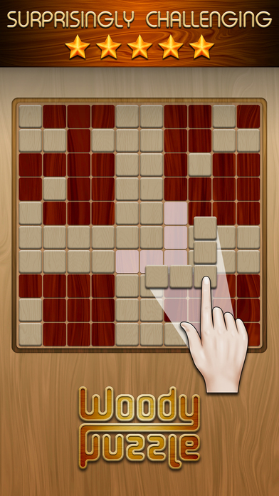 Woody Block Puzzle  ™ screenshot 1