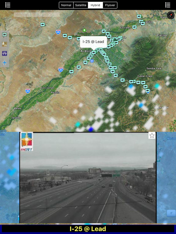 New Mexico NOAA Radar with Traffic Camera screenshot 6