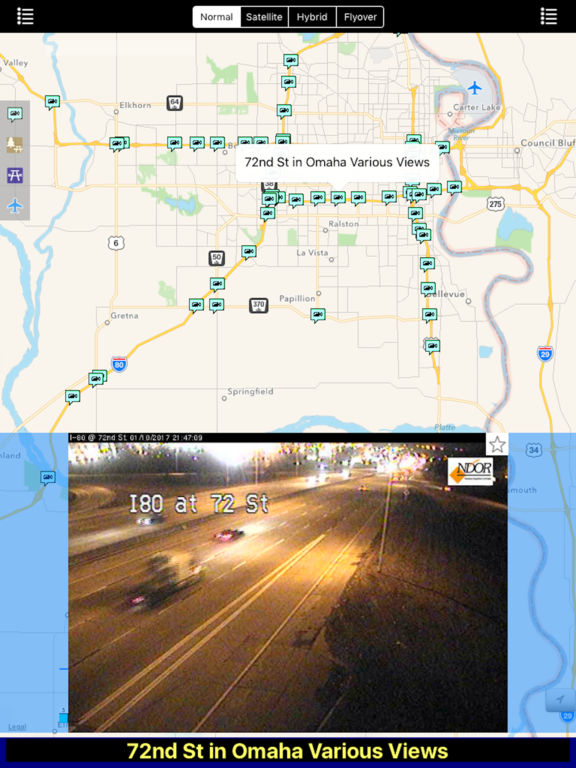 Nebraska NOAA Radar with Traffic Cameras Pro screenshot 8