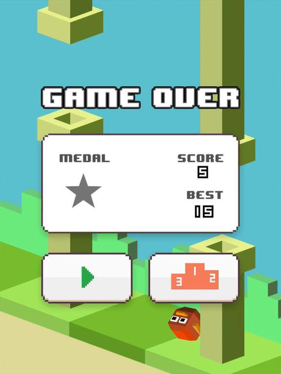 Balloon Bird Game Watch&Phone screenshot 7