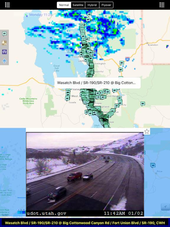 Utah NOAA Radar with Traffic Camera Pro screenshot 5