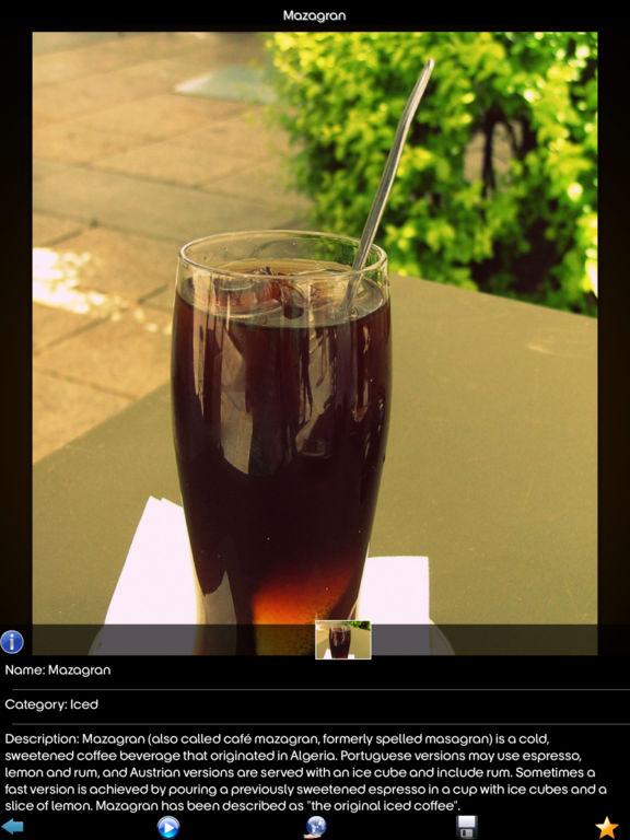 Coffee Drinks Info! screenshot 6