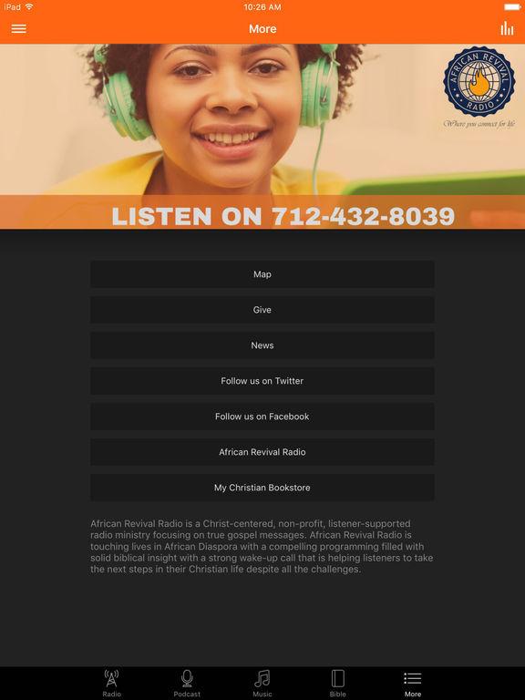 African Revival Radio screenshot 6