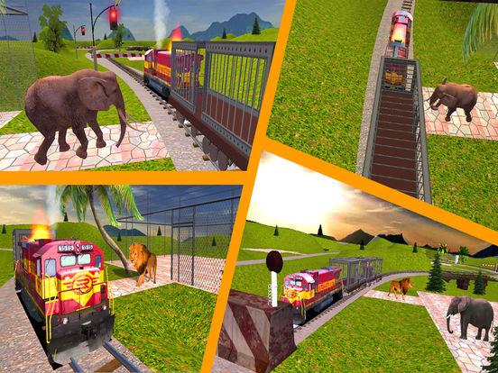 Animal Cargo Transport Train screenshot 8