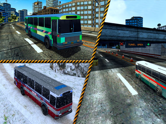 Snow Off-Road Bus Simulator screenshot 7