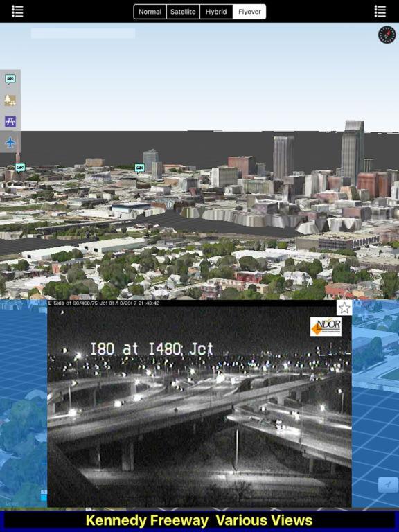 Nebraska NOAA Radar with Traffic Cameras Pro screenshot 5