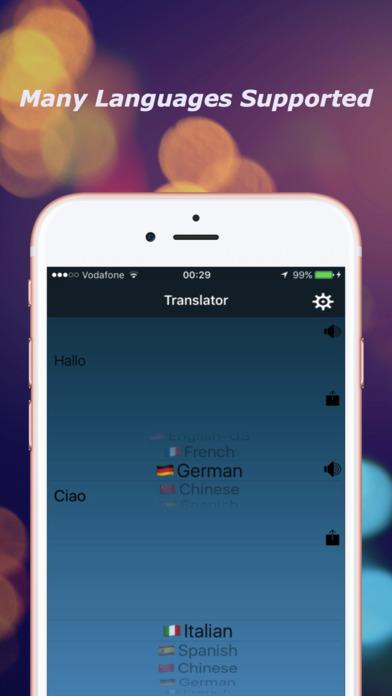 Language  Translator ,Voice AI screenshot 3