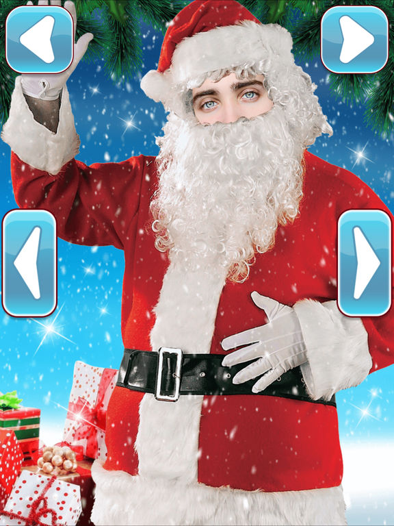 Santa's Christmas Dress Up Face in Hole Montage | Apps | 148Apps