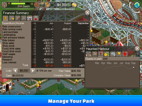 RollerCoaster Tycoon® Classic screenshot 9