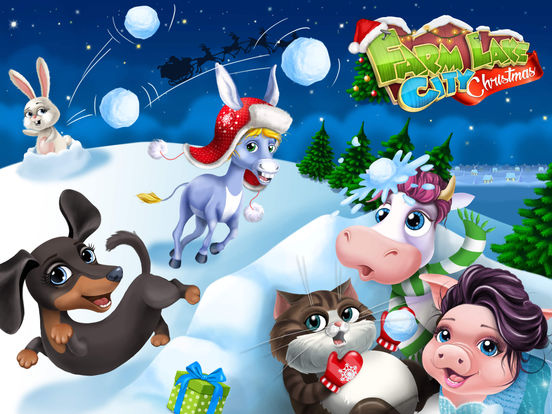 Farm Animals Christmas screenshot 6