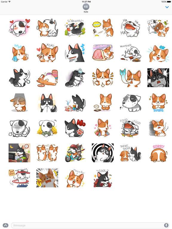 Terrier Dog And Friends Stickers screenshot 4