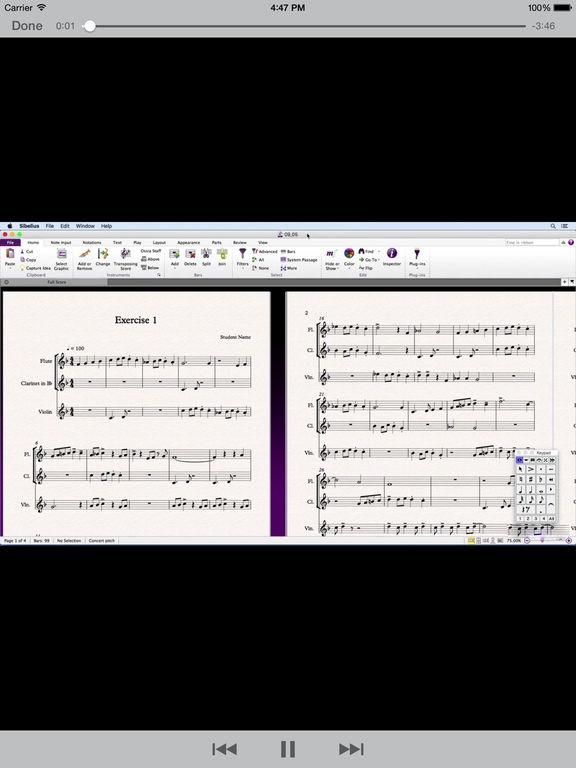 LearnFor Sibelius 8 screenshot 6