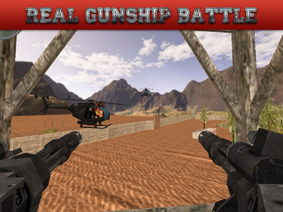 Gunship Rescue Force Battle Helicopter Attack Game screenshot 8