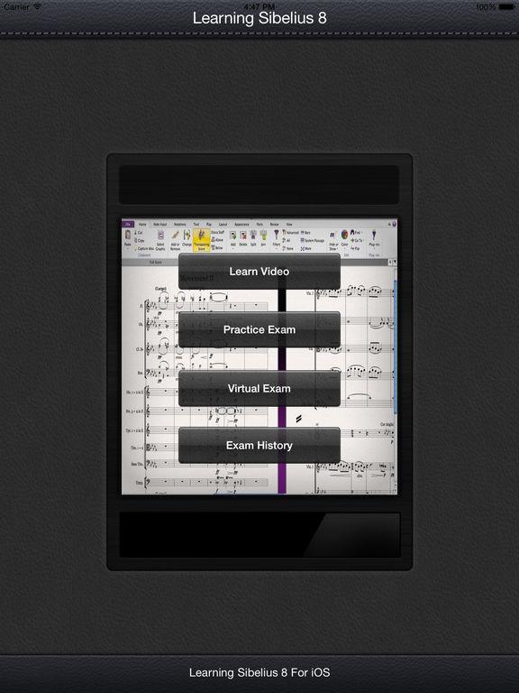 LearnFor Sibelius 8 screenshot 5