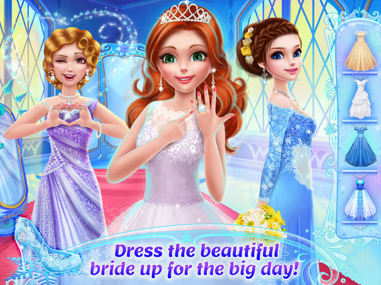 Ice Princess Royal Wedding Day screenshot 7
