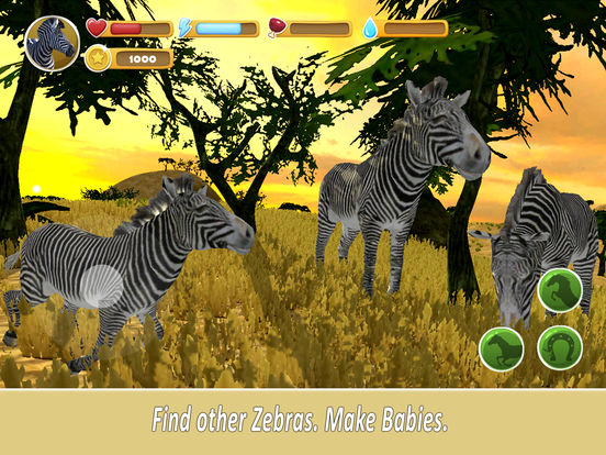 Zebra Family Simulator screenshot 6