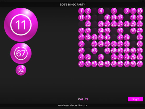 Bingo Caller Machine screenshot 6
