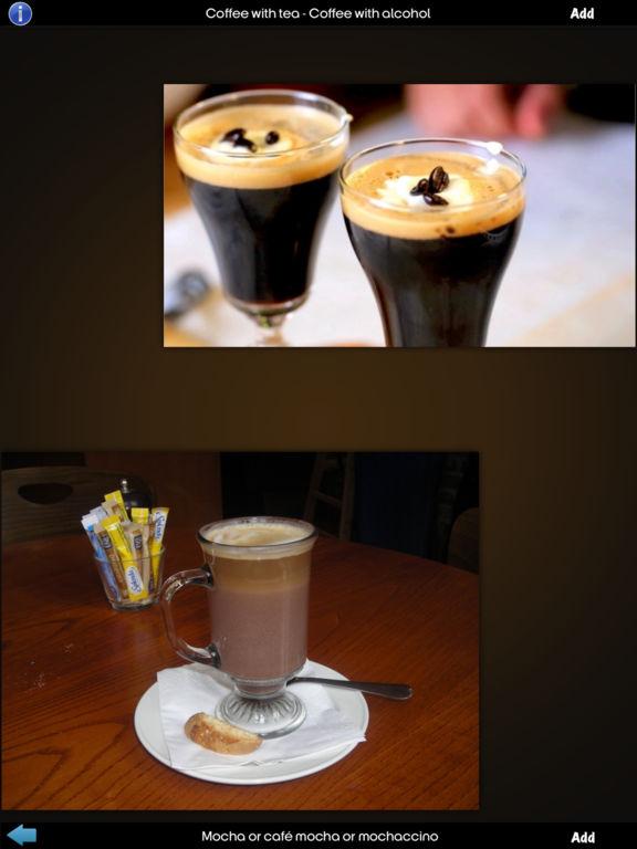 Coffee Drinks Info! screenshot 9