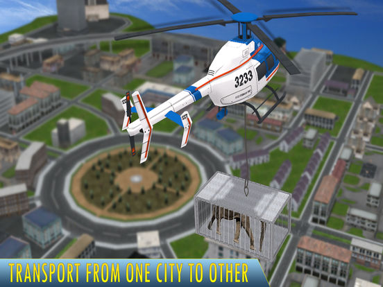 Animal Rescue Helicopter : Heli Flight Simulator screenshot 8