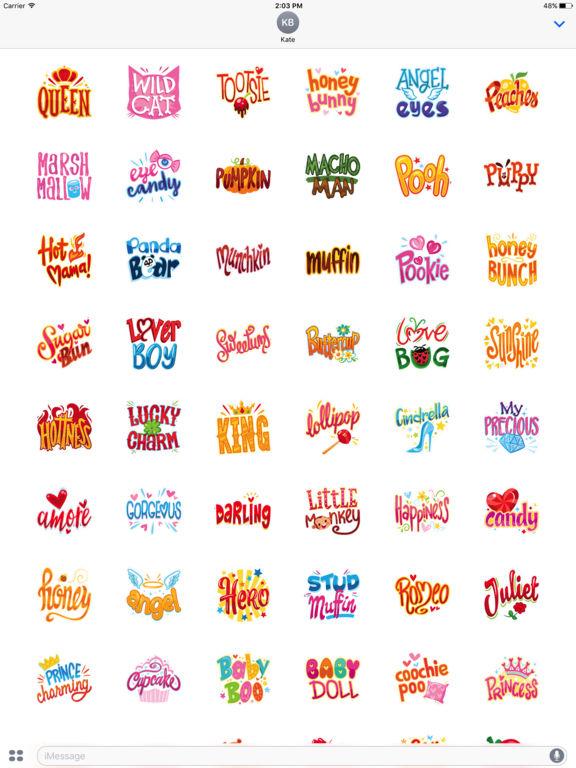 Love Name Stickers screenshot 5