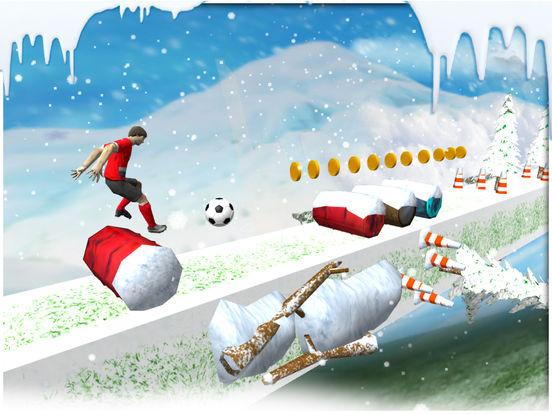 Soccer stunts and race - winters soccer trainer 3d screenshot 6