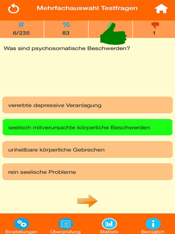 Die Psychologie Quiz screenshot 7