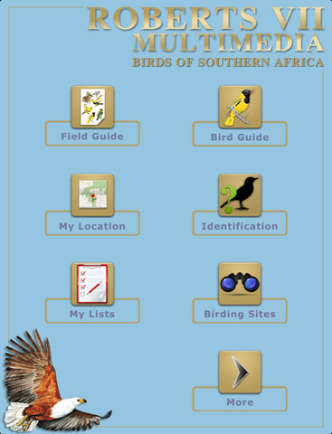 Roberts VII Multimedia Birds of Southern Africa HD - náhled