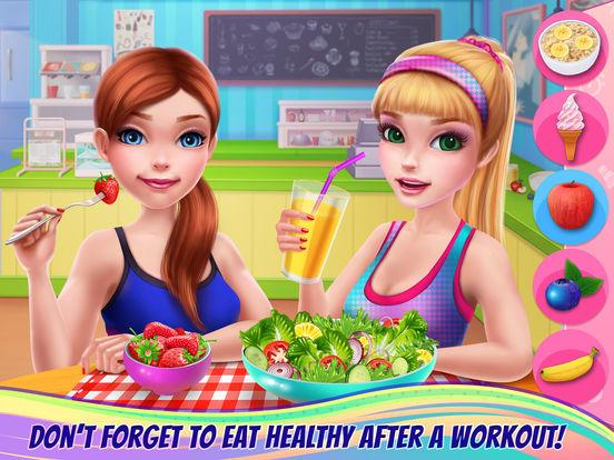 Fitness Girl - Studio Coach screenshot 9