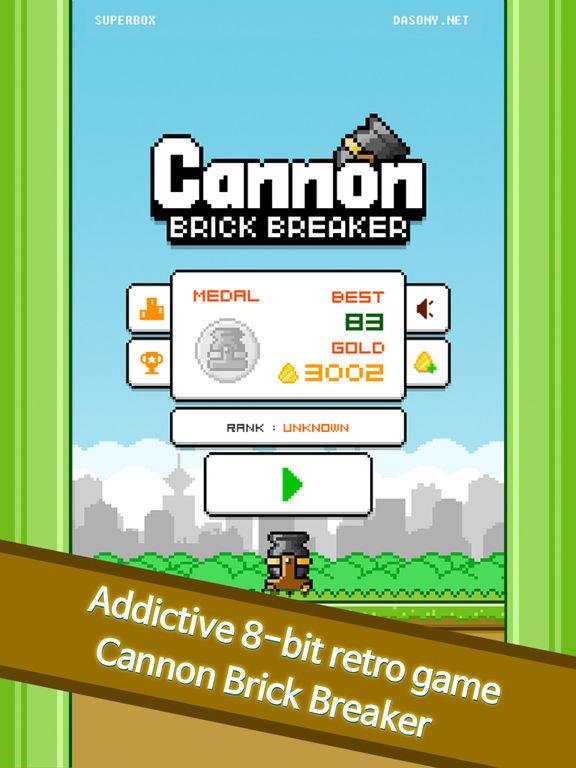 Cannon - Brick Breaker screenshot 5