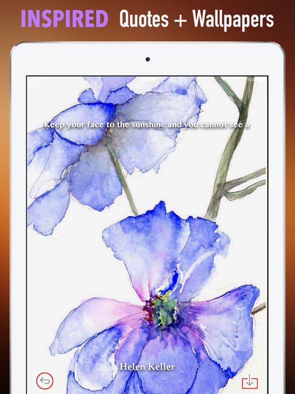 Watercolour Flowers Wallpapers HD- Quotes and Art screenshot 10
