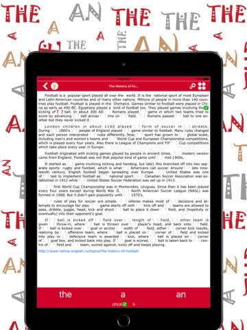 Articles Pro: English - náhled